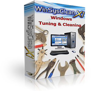 WinSysClean - Windows System Cleaner BoxShot