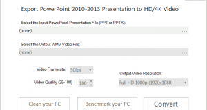 PowerPoint HD 1080p Video