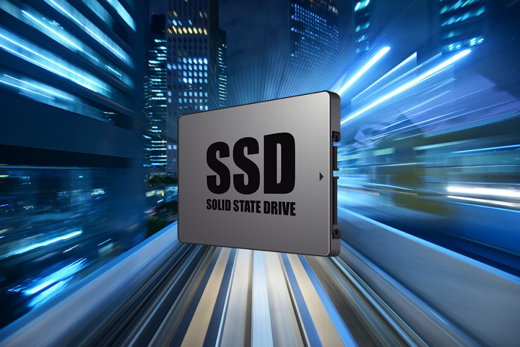 SSD boasts a much higher performance than HDD that can reach up to 100 times faster