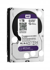 WD Purple HDD for Surveillance
