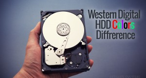 WD HDD Colors Difference
