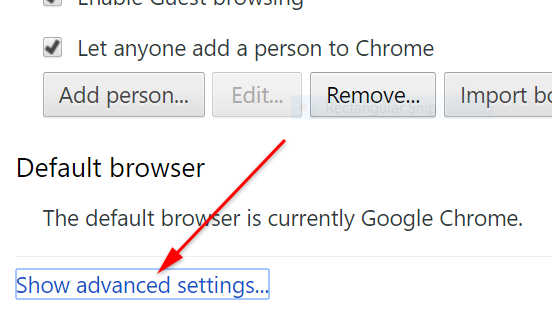 How to change google chrome language step 3