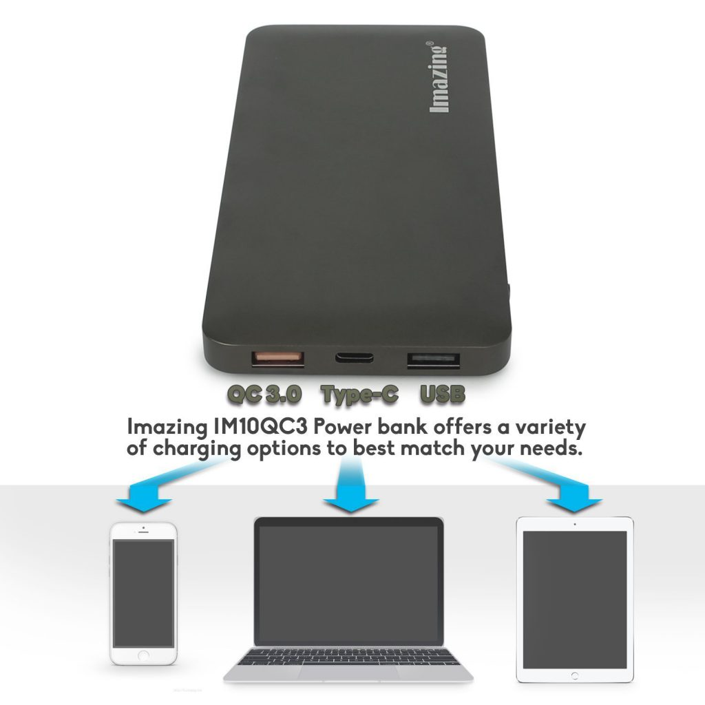 Top 10 Best External Battery Power Bank 2017 Powerbank Anker Powercore 10000mah Black With Quick Charge 30 Banks Imazing 10000