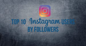 top 10 instagram users by followers