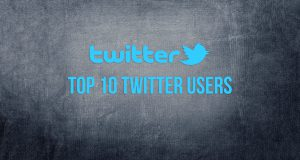 top 10 twitter users by followers