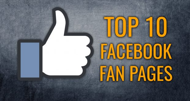 Top 10 Facebook Popular Liked Pages